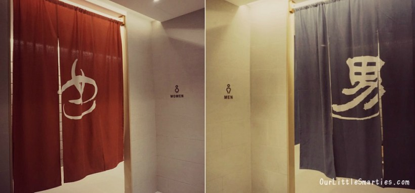 Onsen separated by gender