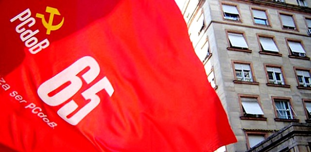 PCdoB realiza encontro regional neste sábado em Santarém, pcdob, bandeira