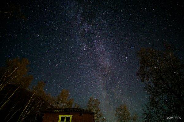 Shooting Stars and Milky Way - Senja, Norway.jpg
