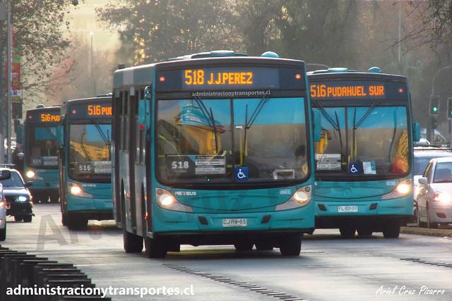 Transantiago 518 | Metbus | Caio Mondego H - Mercedes Benz / CJRW55