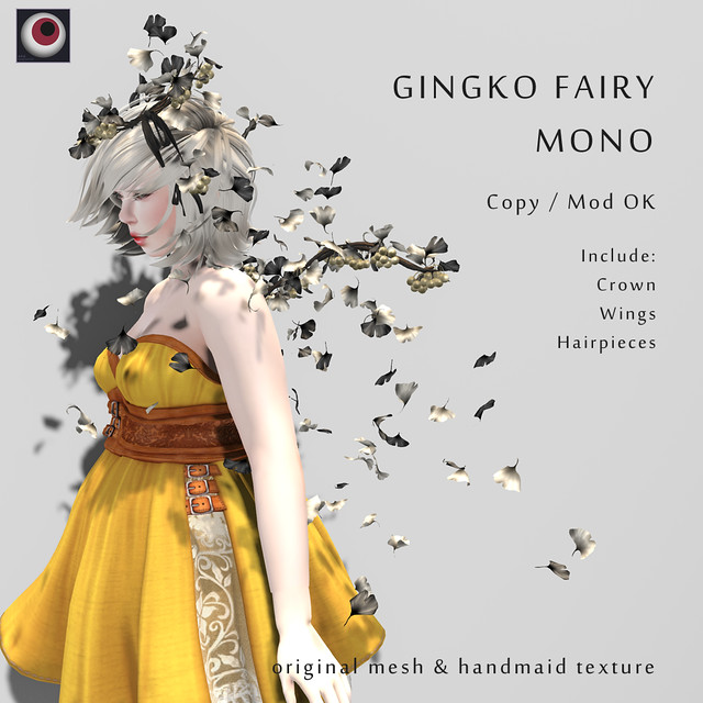 *NAMINOKE*GINGKO FAIRY Mono