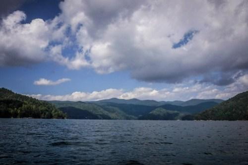 Lake Jocassee with Bennie Waddell-33