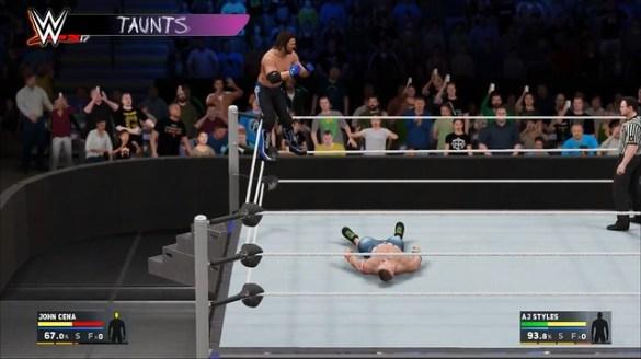 WWE 2K17 Taunts