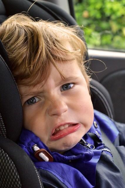 bambini in auto - sicurezza stradale