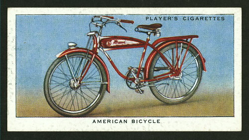 Cigarette Card Cycling Collection 1939