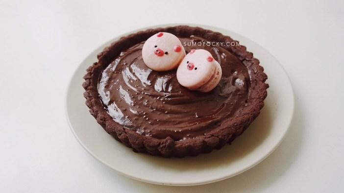 Double Chocolate Mocha Tart