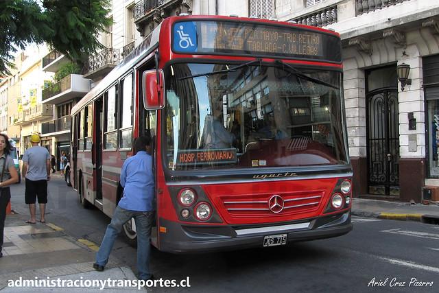 Buenos Aires 126   Cárdenas   Ugarte - Mercedes Benz / JQS715