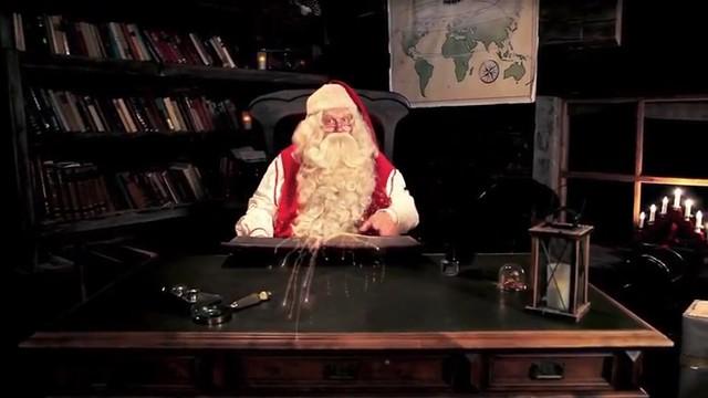 videomessaggio da Babbo Natale