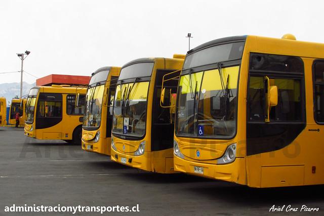 Transantiago | STP Santiago | Caio Mondego H - Mercedes Benz / BWRF19 - FLXJ85 - CJRD39