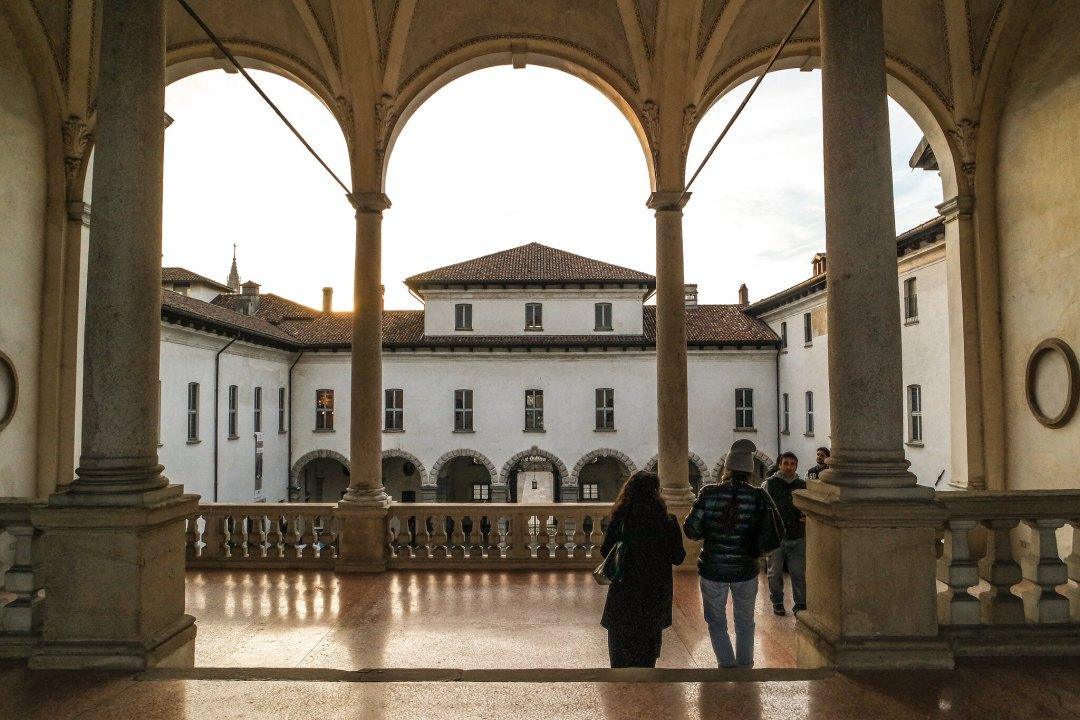 Loggia del Palazzo Arese Borromeo
