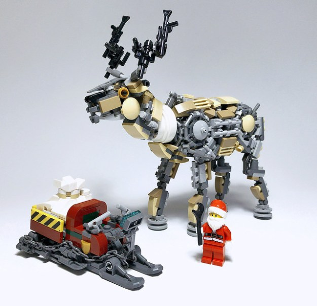 Rudolph the rad-fuelled reindeer | The Brothers Brick | The ...