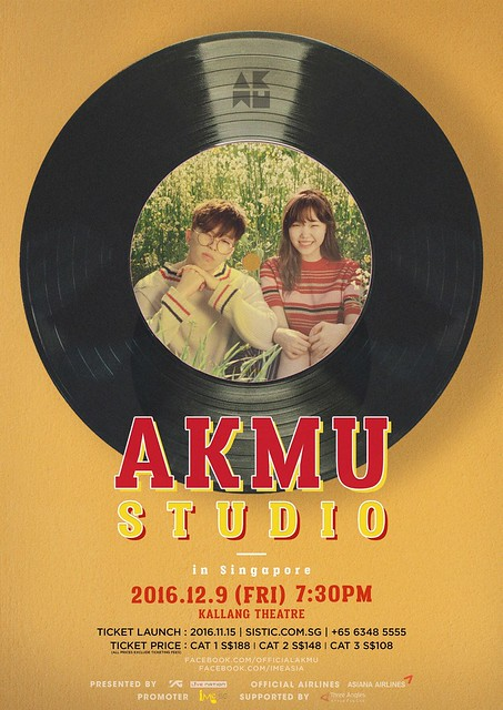 Akdong Musician - AKMU STUDIO IN SINGAPORE