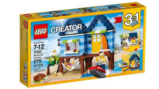 lego creator beach hut instructions