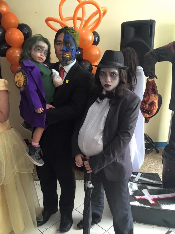 DIY Halloween Costume Mommy MJ Batman