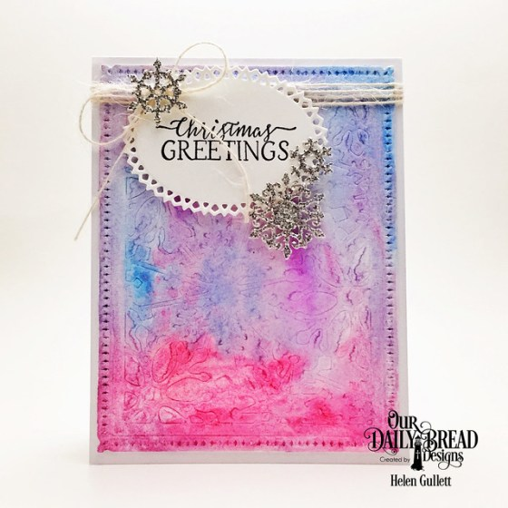 Snowflake Sky - Christmas Greetings