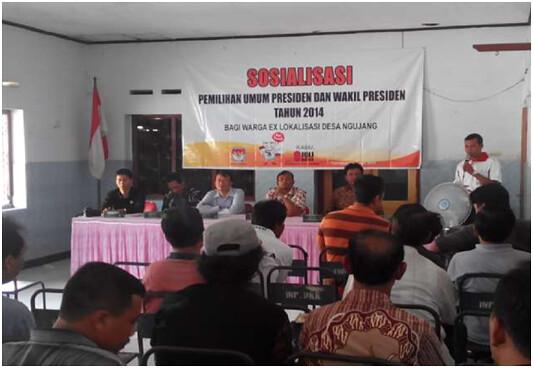 Sosialisasi warga eks lokalisasi desa Ngujang, Kedungwaru Tulungagung (26/6)