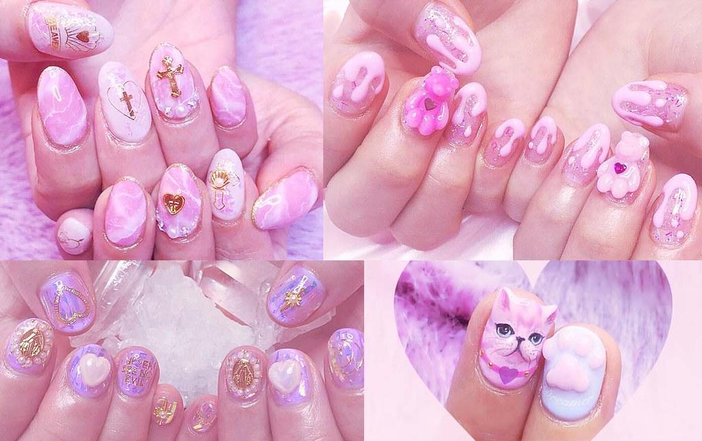 ♥ 少女的粉紅世界!日本美甲師的夢幻店面 1