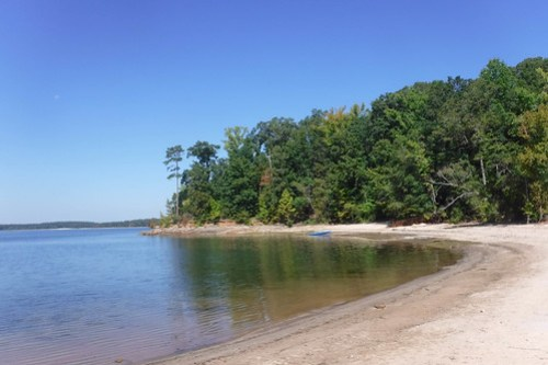 Paddling to Ghost Island in Lake Hartwell-46