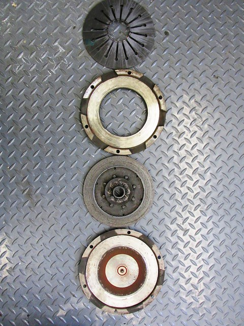 Original Clutch Parts Ready For Refurbishment by Southland Clutch