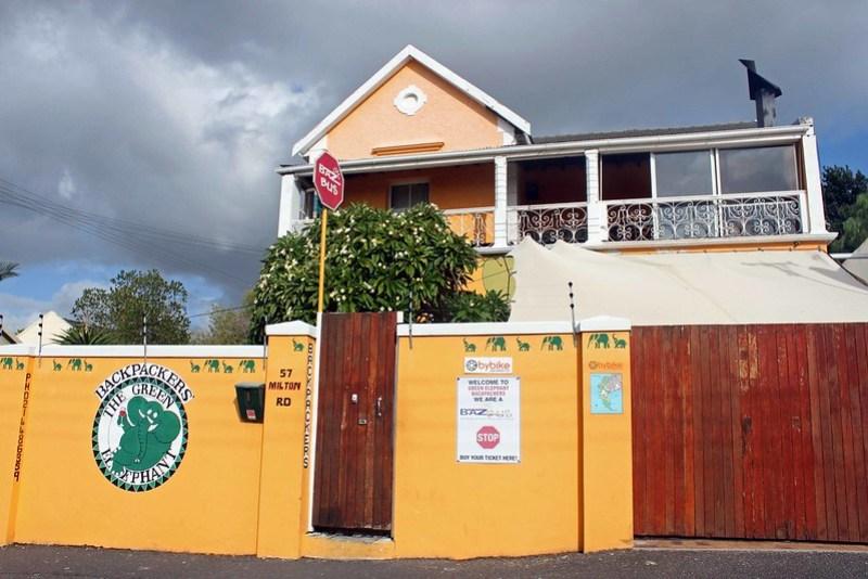 En taxatur fra Capetown til mit hostel