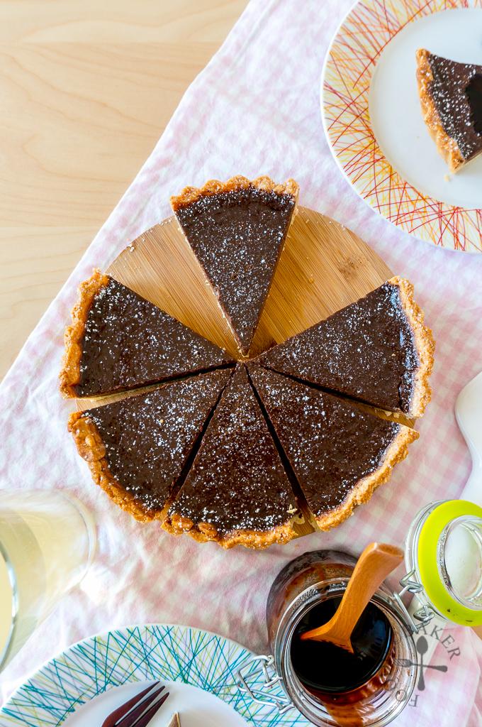 Classic Chocolate Tart