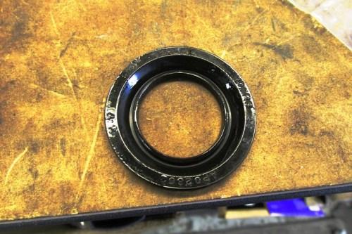 Dust Seal Soaked in DOT-3 Brake Fluid