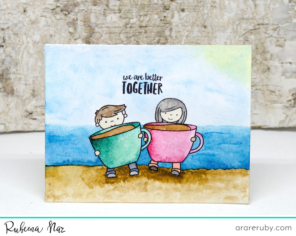 Summer Coffee Card NT 01