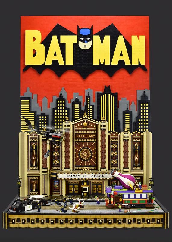 乐高蝙蝠侠和小丑哥谭镇剧院摊牌