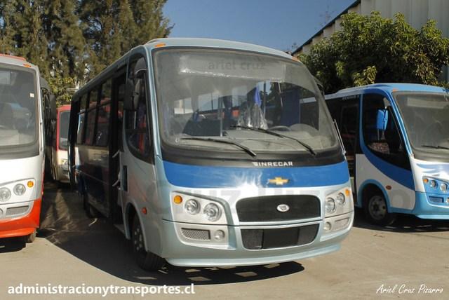 Inrecar Géminis II - Chevrolet (Nuevo)   Urbanos de Concepción