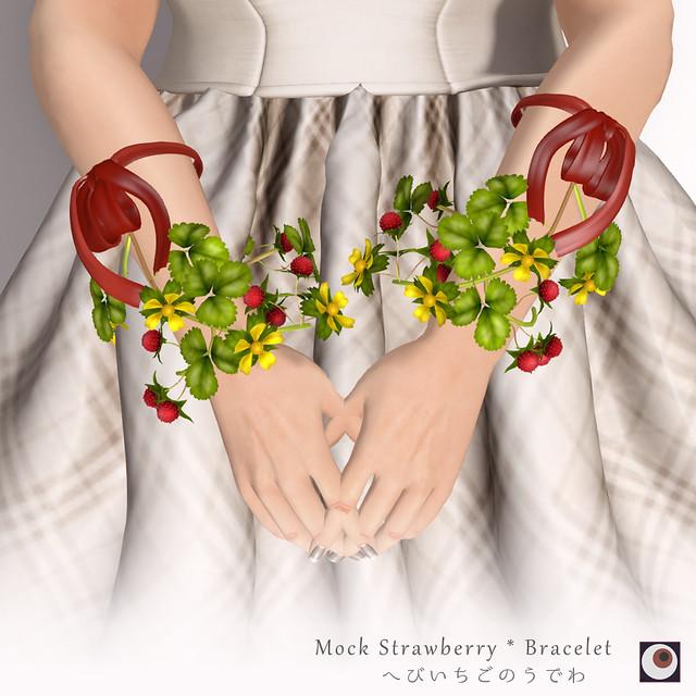 *NAMINOKE*Moc Strawberry-Arm