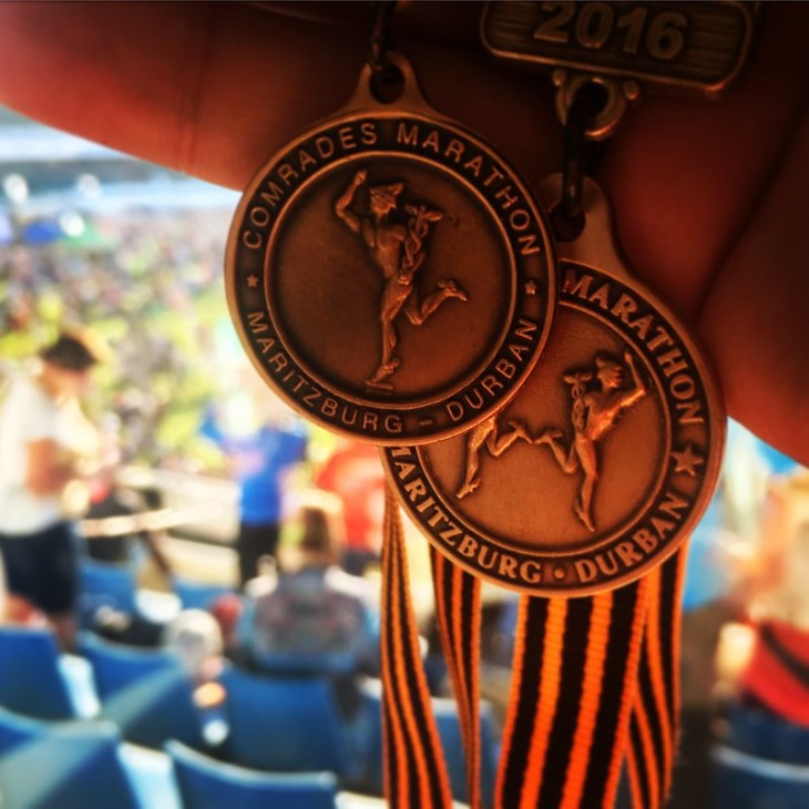 Back to back medals!