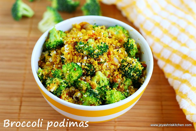 Broccoli podimas