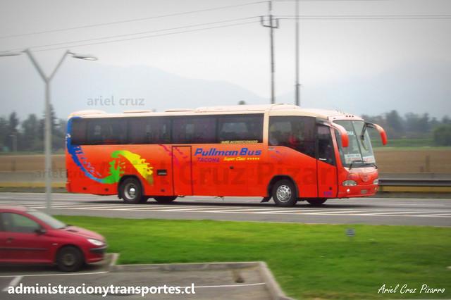 Pullman Bus Tacoha | San Francisco de Mostazal | Irizar Century - Scania / YC9948 - 106