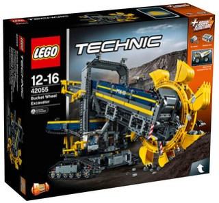 LEGO Technic 42055 box Nouveautés LEGO Technic