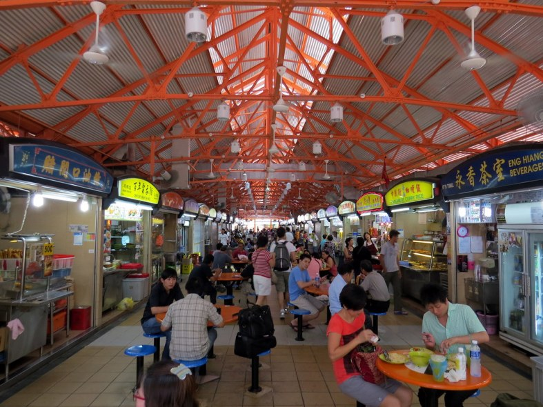 Maxwell Food Centre - Hawker Food Court - Singapore