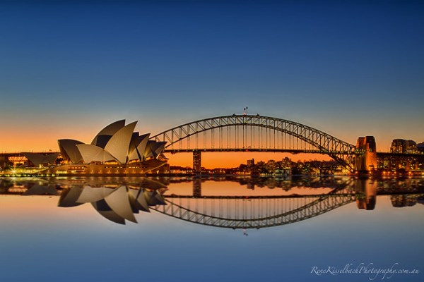 Sydney Harbour reflections