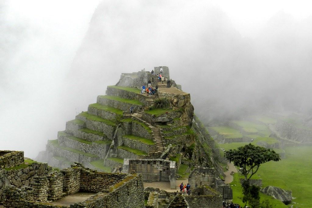 Peru Machu Picchu piramide Intihuatana 06