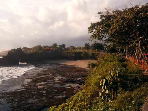 Beach at Pura Batu Bolong Bali