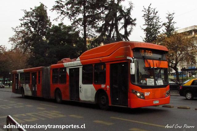 Transantiago - 418 | Express | Busscar Urbanuss - Volvo / ZN6760