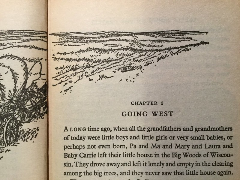 Little House on the Prairie, by Laura Ingalls Wilder - the tea break project solo travel blog