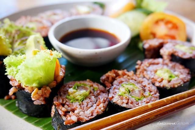 Ubud Bali Vegan Sushi