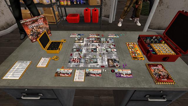 Simulateur de table - Zombicide