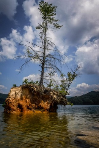 Lake Jocassee Kayaking-114