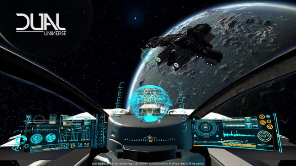 Dual Universe, Sandbox Sci-Fi MMO Lets Players Build Planets - One