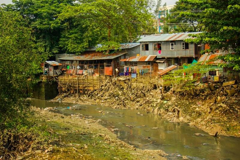 Yangons slum