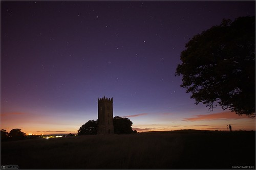 Photographing Tyrconnell Tower at Night