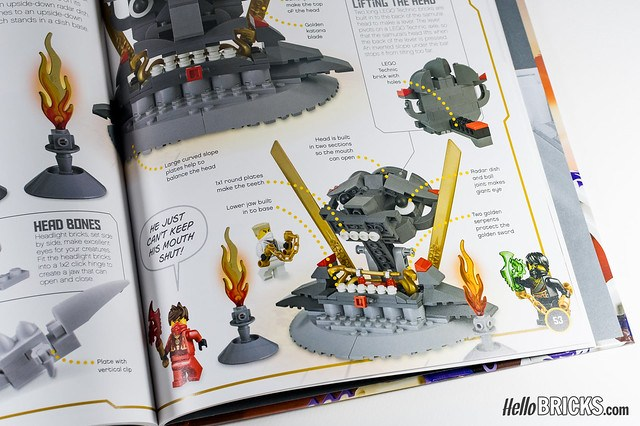 Review Livre LEGO Ninjago DK Build Your Own Adventure 10