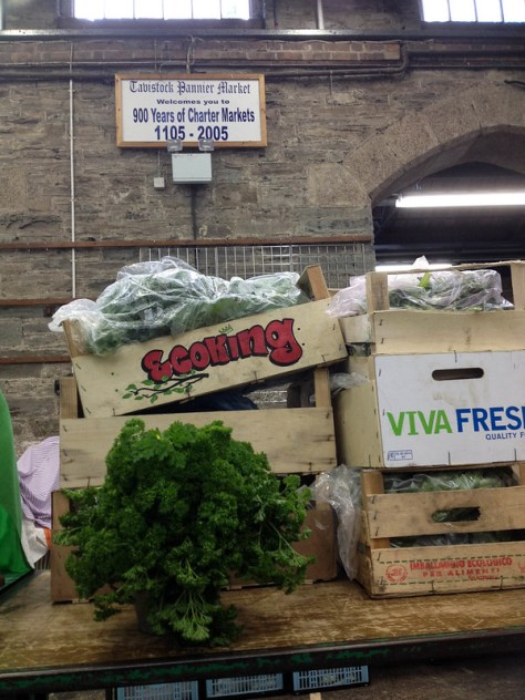 Tavistock Market day