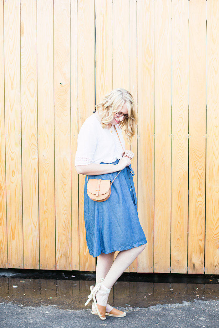 chambray skirt espadrille sandals4