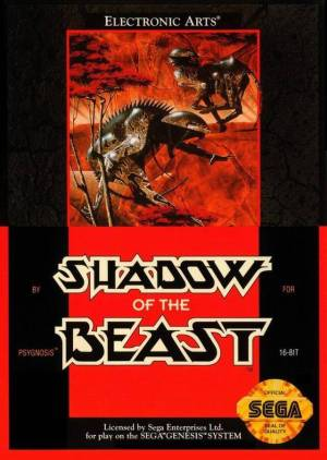 Difficult Genesis Games Shadow of the Beast